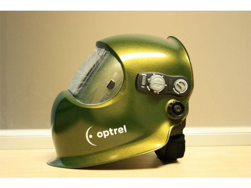 Schweißerhelm Schweißerschutzmaske Automatik Optrel e650 cosmic green 1006.340