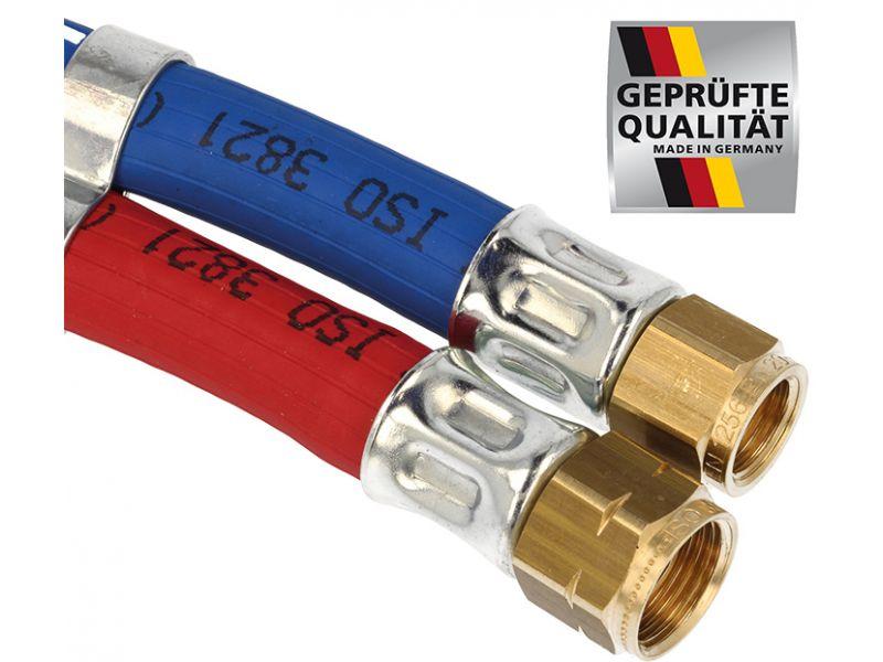 Autogenschlauch Propan MD / Sauerstoff DN6/6 - 5 m