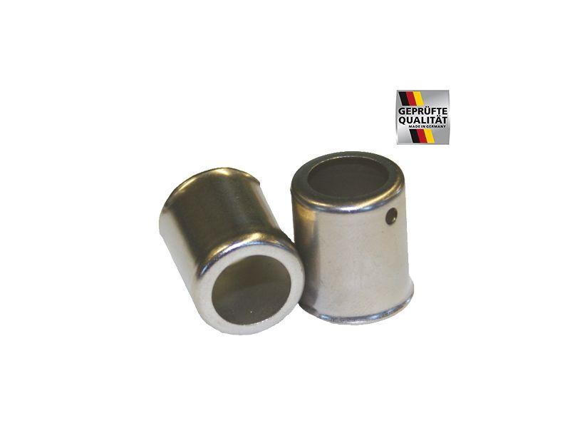 SEMPERIT Autogenschlauch Sauerstoff / Acetylen DN 6/9 mit Doppelklemmen 5m